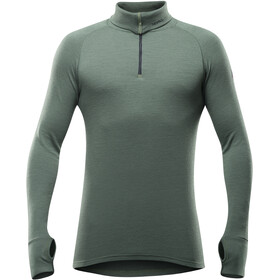 Devold Expedition Colkraag Longsleeve met Rits Heren, forest